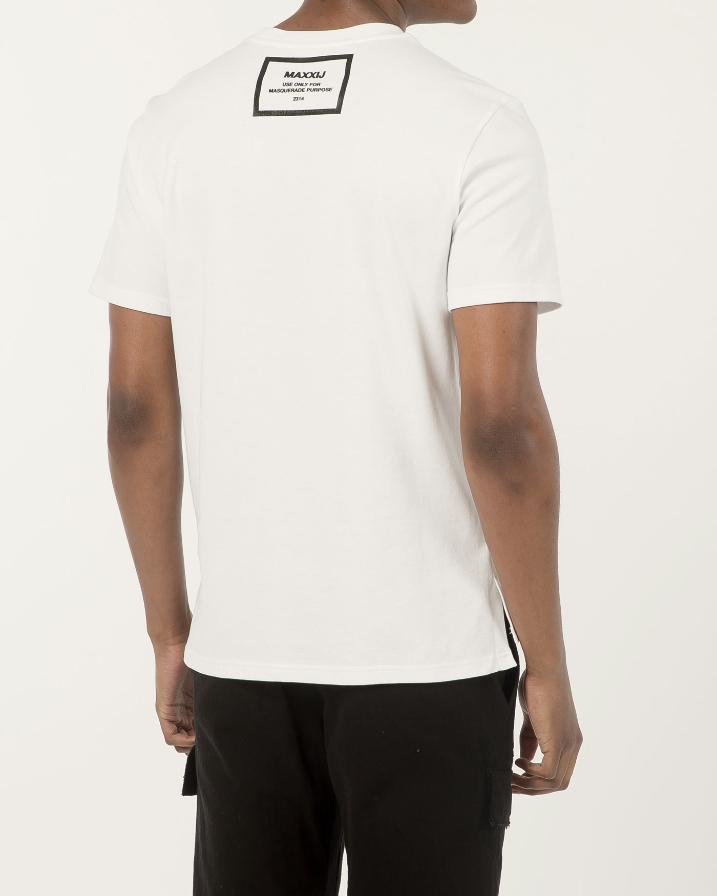 Slim Fitted Tshirt White