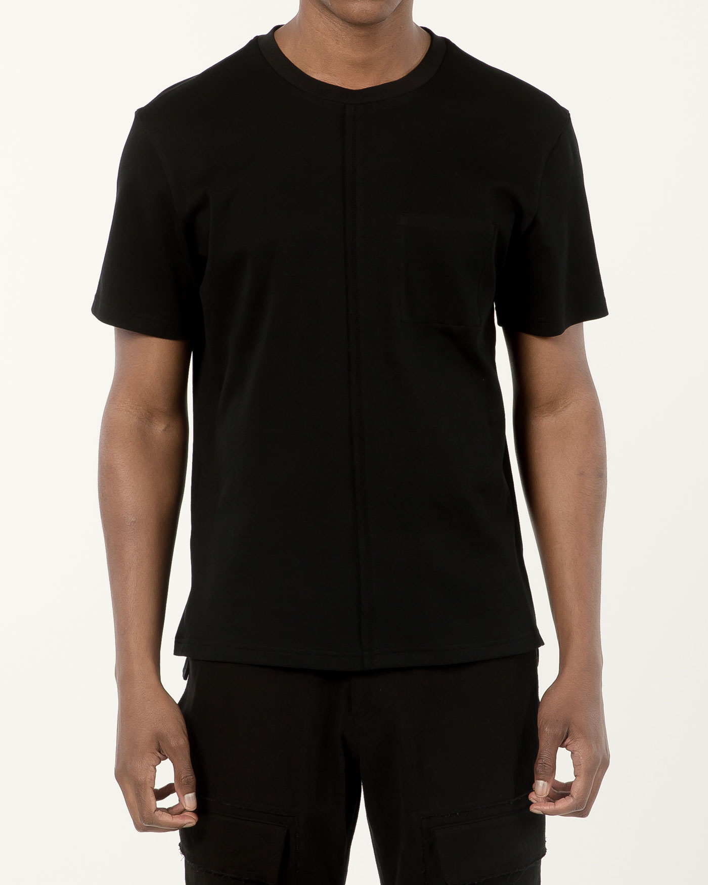 Slim Fitted Tshirt black