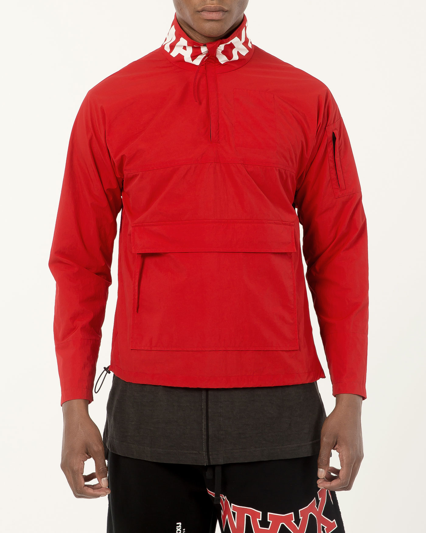 Anorak Jumper Red/White