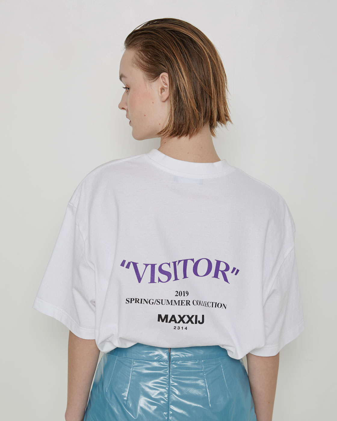 'Visitor' T-shirt White